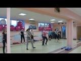 наша тренька; фитнес с бодибаром хореограф Матрунич Екатерина